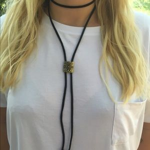 Jewelry - Leather choker